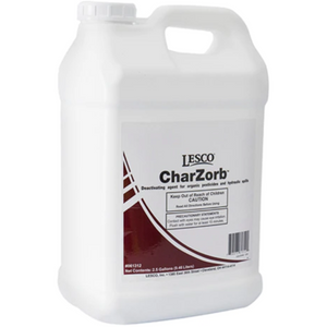LESCO Charzorb Flowable Activated Charcoal- 2.5 Gallon - Seed World