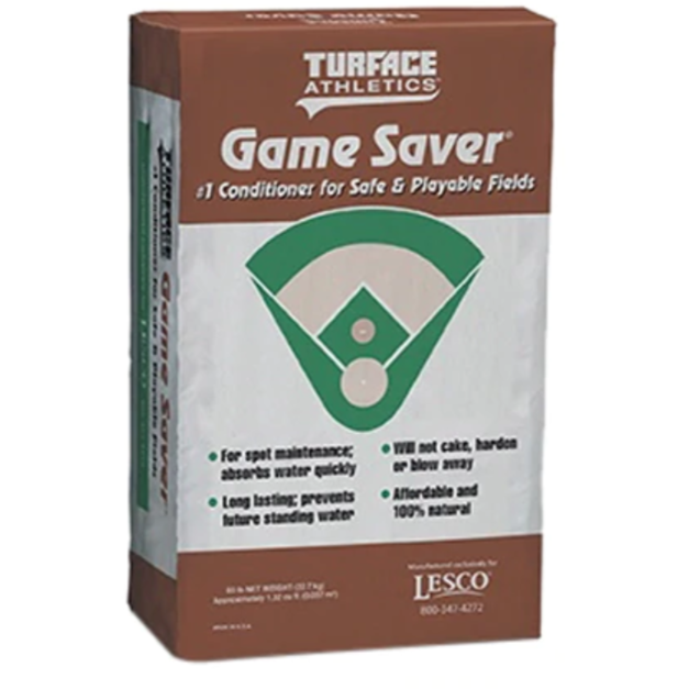 LESCO Turface Gamesaver Drying Agent Wet areas - 50 lbs. - Seed World