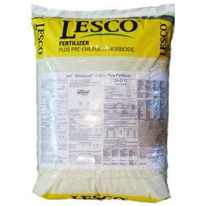 Lesco Pre-emergent herbicde plus fertilizer stonewall