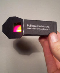 Foldable Mini-Spectrometer
