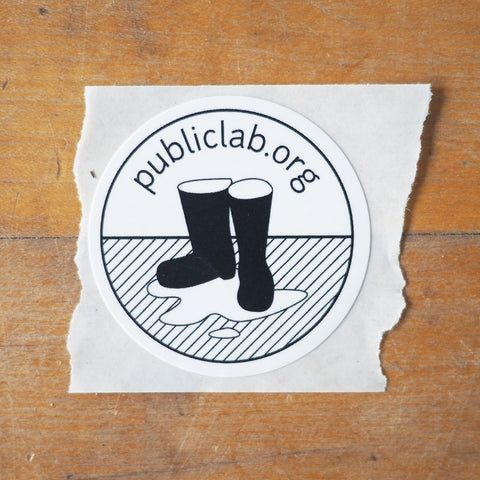 Public Lab sticker pack