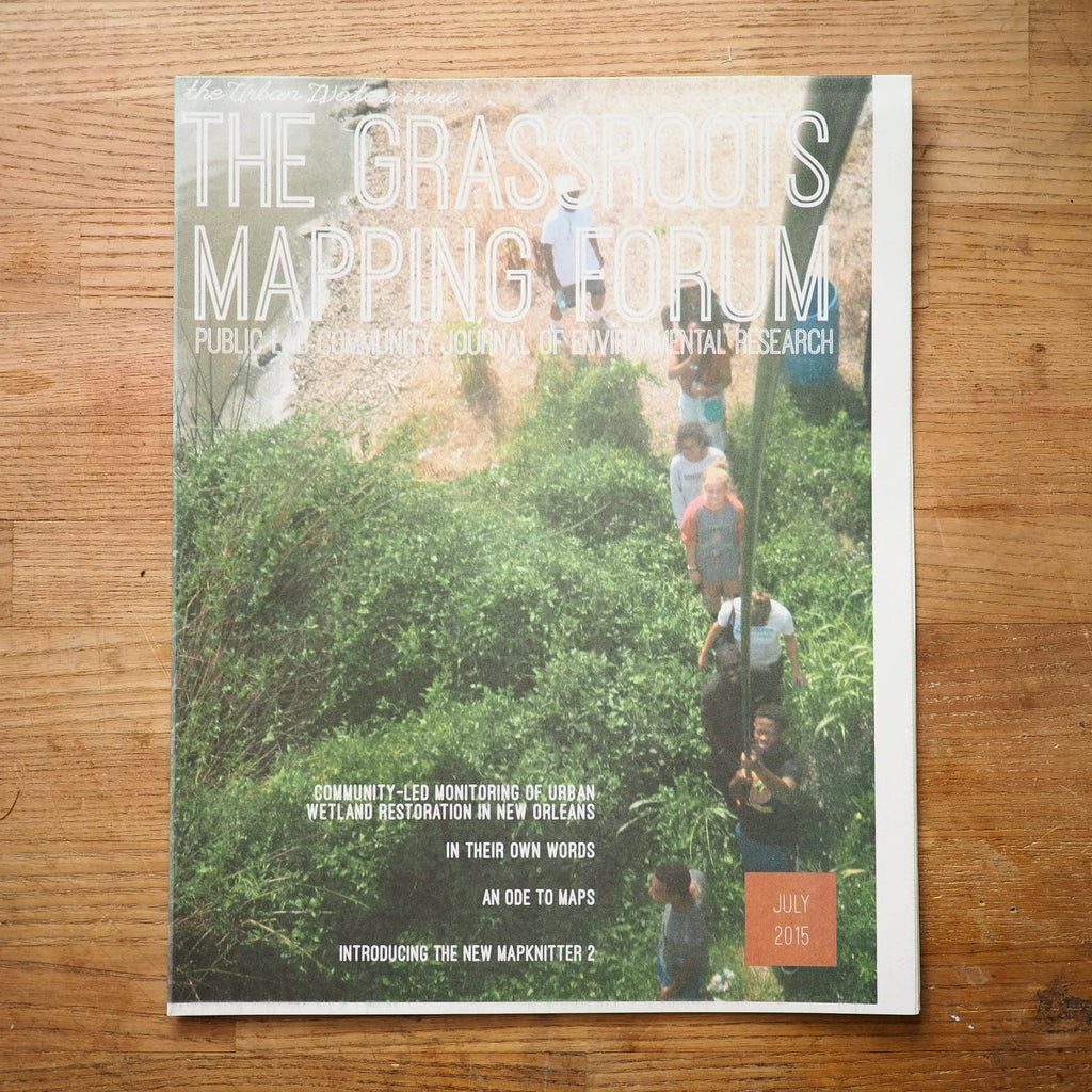 Grassroots Mapping Forum Issue #8, July 2015