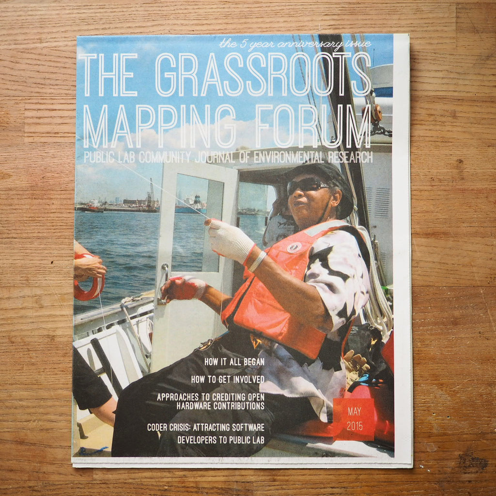Grassroots Mapping Forum Issue #7 5th Anniversary!