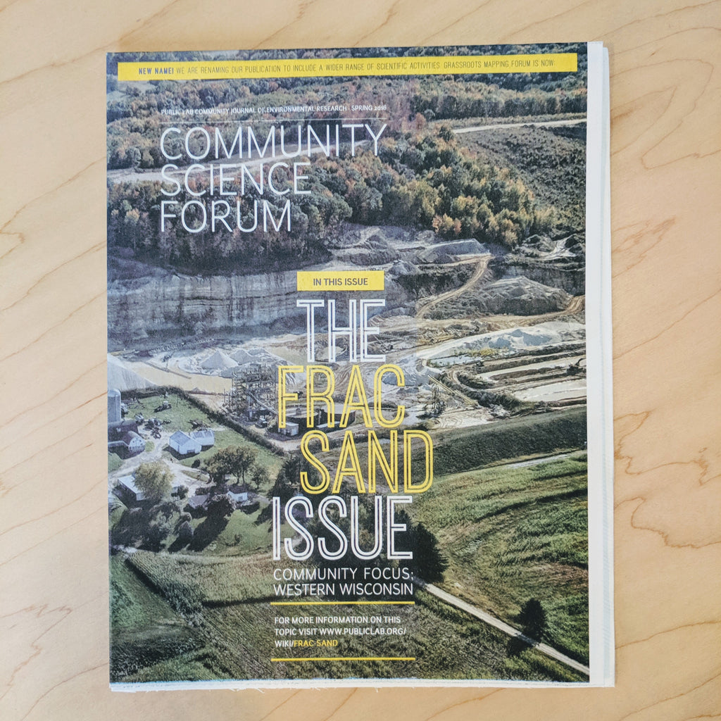 Community Science Forum—Frac Sand