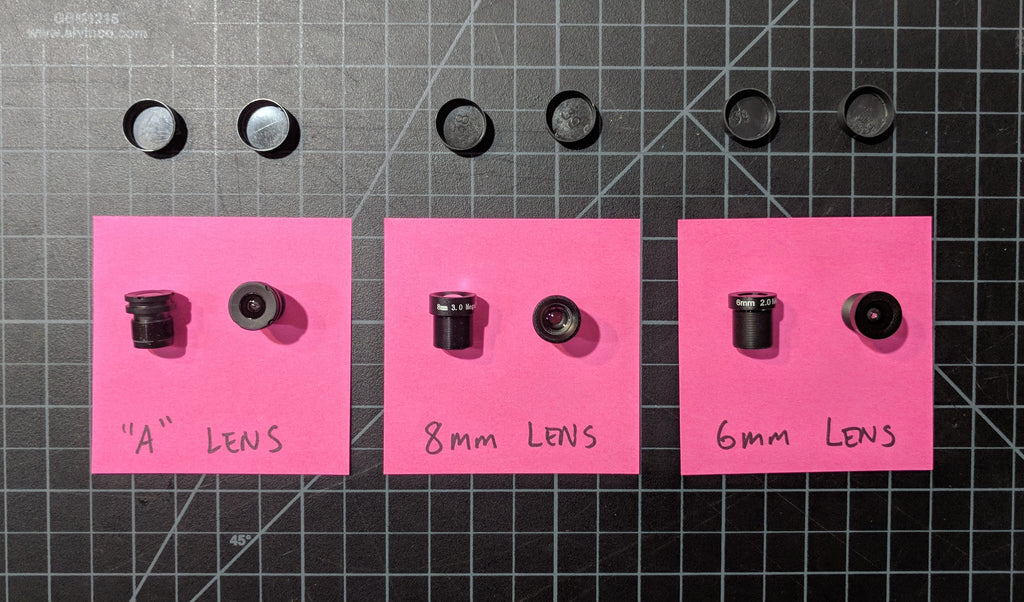 Lenses for Mobius ActionCam