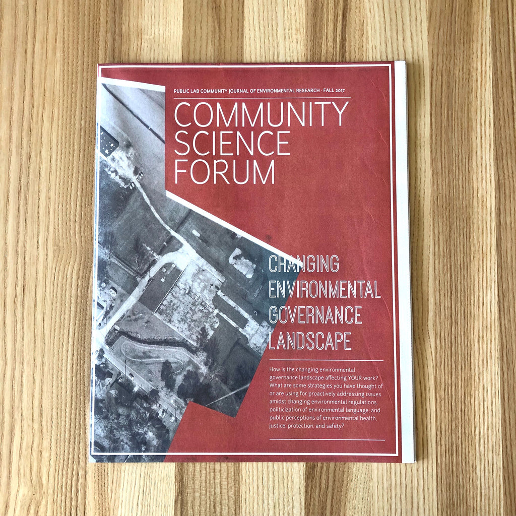 Community Science Forum Issue 13 - Changing Environmental Governance Landscape