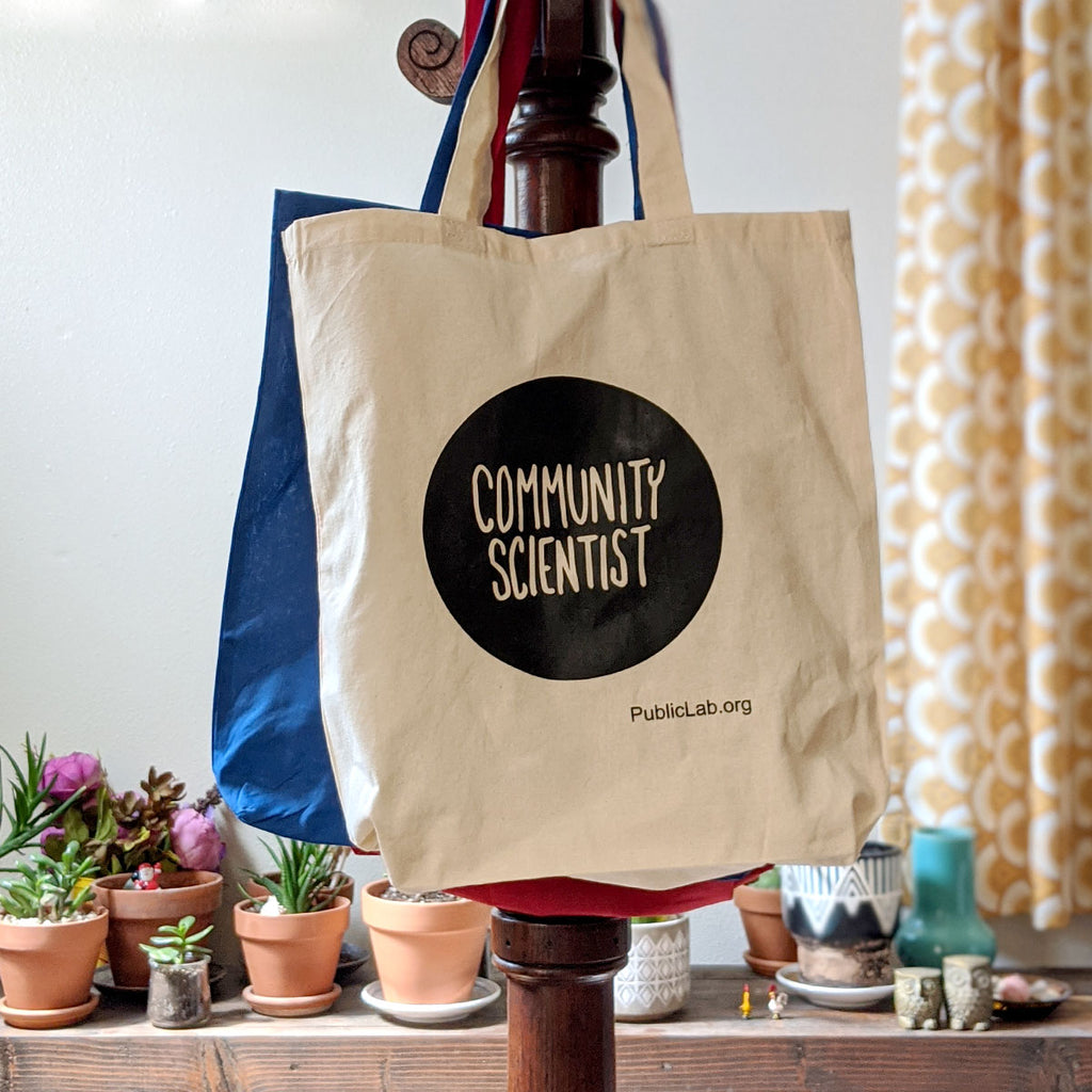 Community Scientist Tote Bag