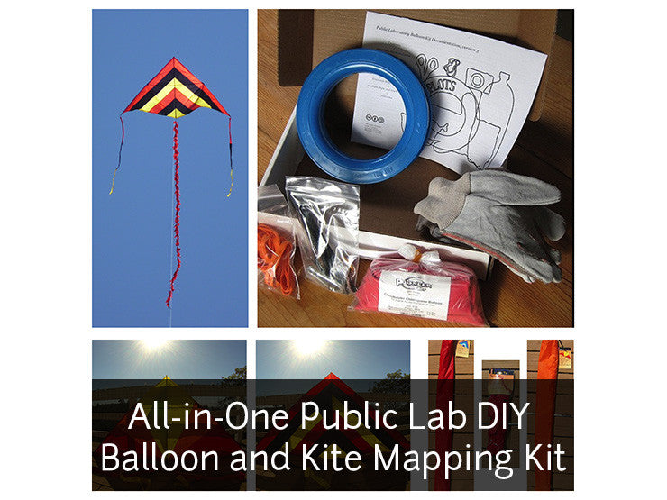 All-in-One Balloon and Kite Mapping Kit