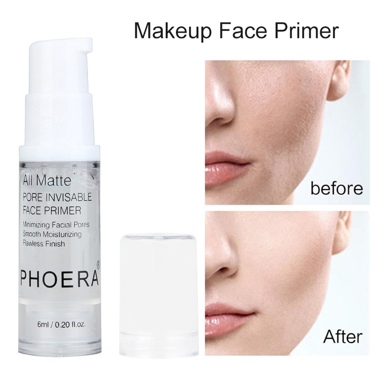 Phoera Flawless Makeup Base Matte Pore Minimizing Makeup Primer