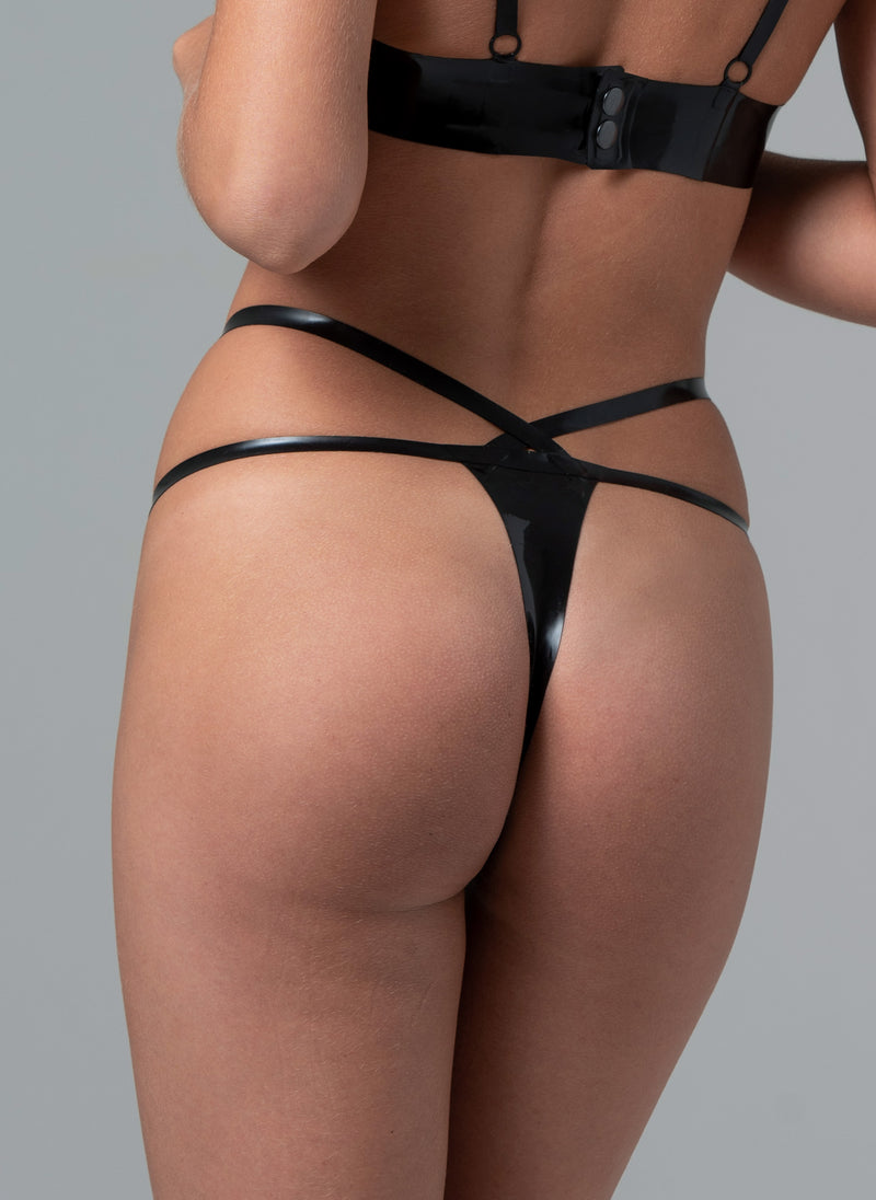 Latex Starlet G-String
