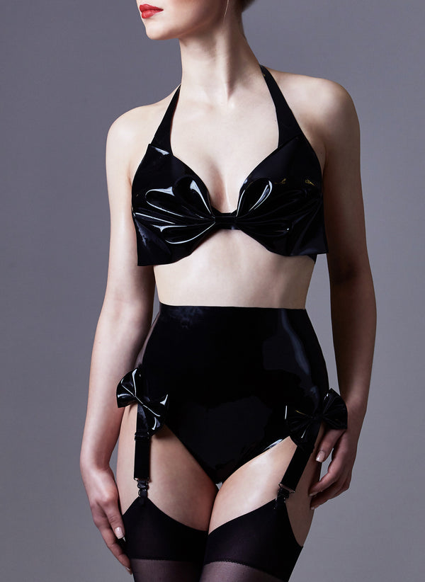 Latex Sindy Lingerie Set