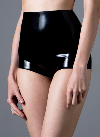 Latex Holiday Hot Pants