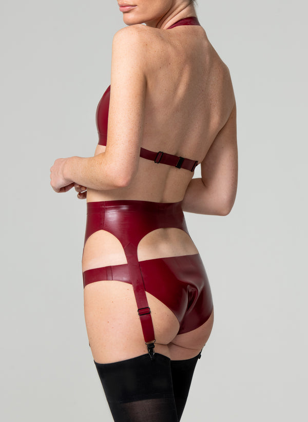 Latex Vogue Lingerie Set