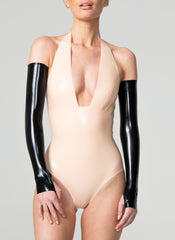 Latex Silhouette Mittens