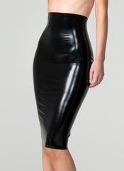 Latex Classic Pencil Skirt