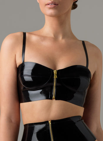 Latex Delilah Bra