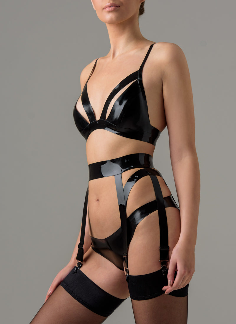 Latex Ballet Bra