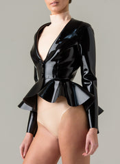 Latex Oxford Jacket
