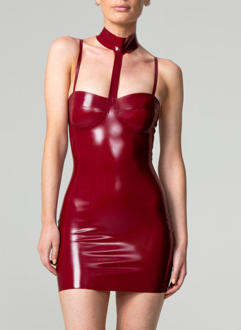 Latex Mayfair Mini Dress