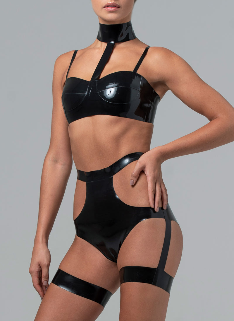 Latex Andromeda Lingerie Set
