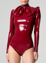 Latex Chateau Blouse & Bow