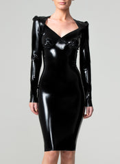 Latex Jewel Dress