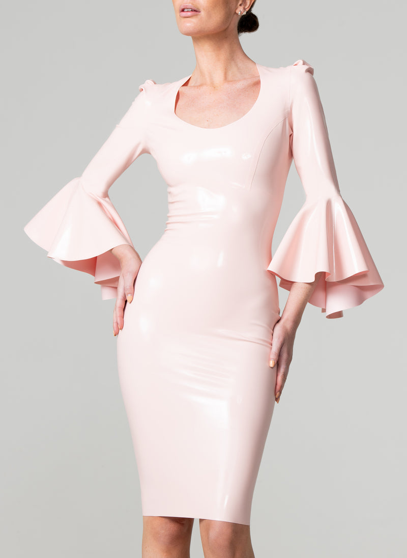 Latex Antoinette Dress