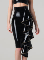 Latex Eternity Skirt