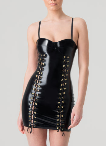 Latex Casino Dress