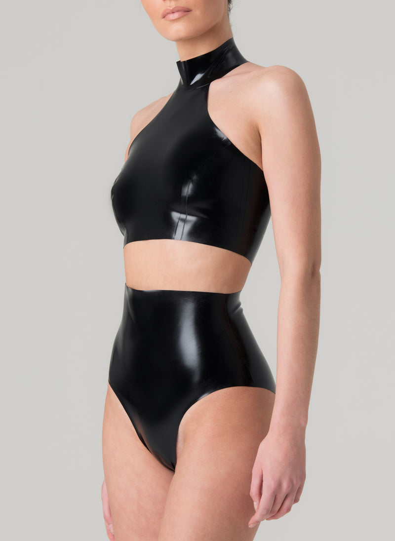 Latex Pop Lingerie Set