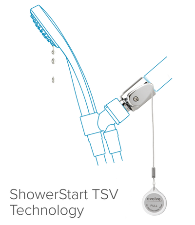 Multifunction Hand Shower with ShowerStart TSV 1.5 gpm