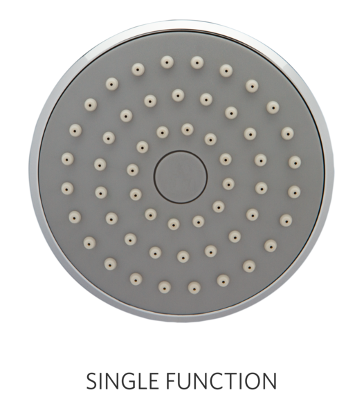 Standard Single Function Shower Head 1.25 gpm