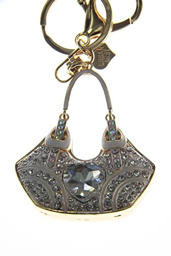 Rhinestones Bag Key Ring Key Chain Charm Pendant Accessory Handbag Diamante Charm