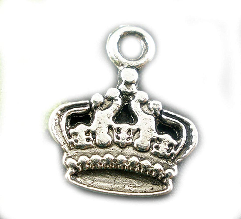 Crown Charms Pendants Findings 17x14mm - Pendants and Charms