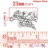 Angel old Silver Charm Clip on Bead for Charm Bracelets Charms necklace floating charms - Pendants and Charms