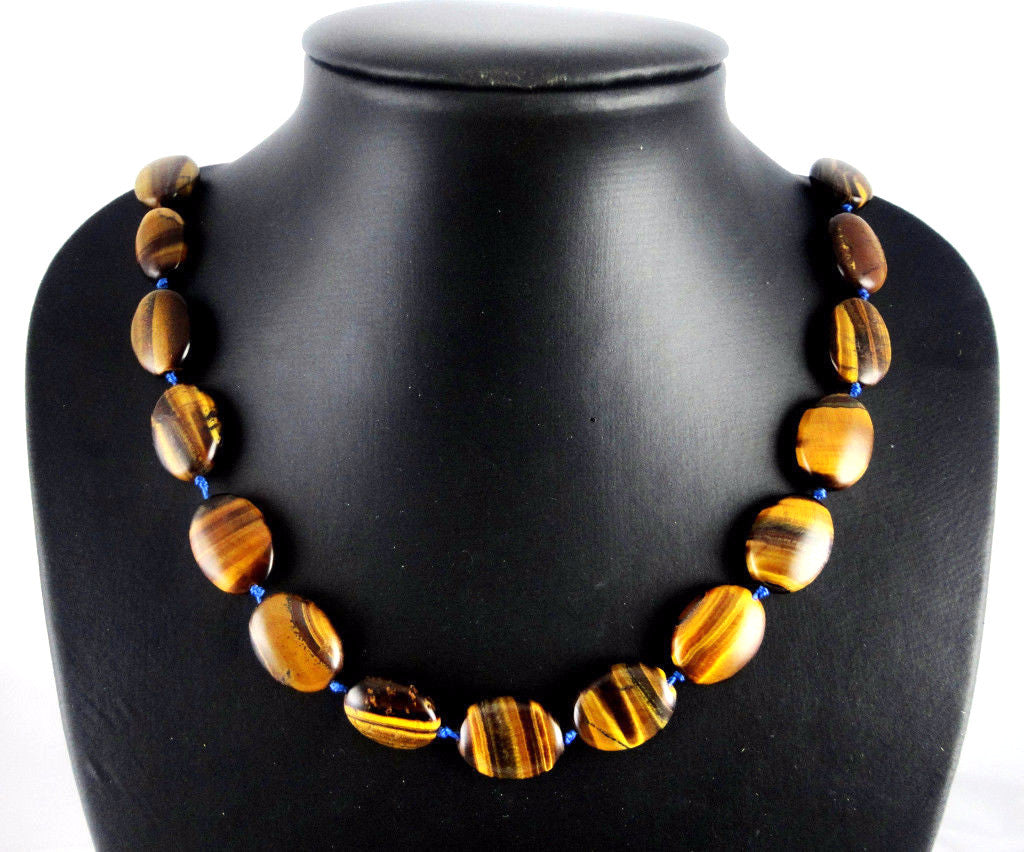 Tiger eye Handmade Gem Jewellery Necklace - Pendants and Charms