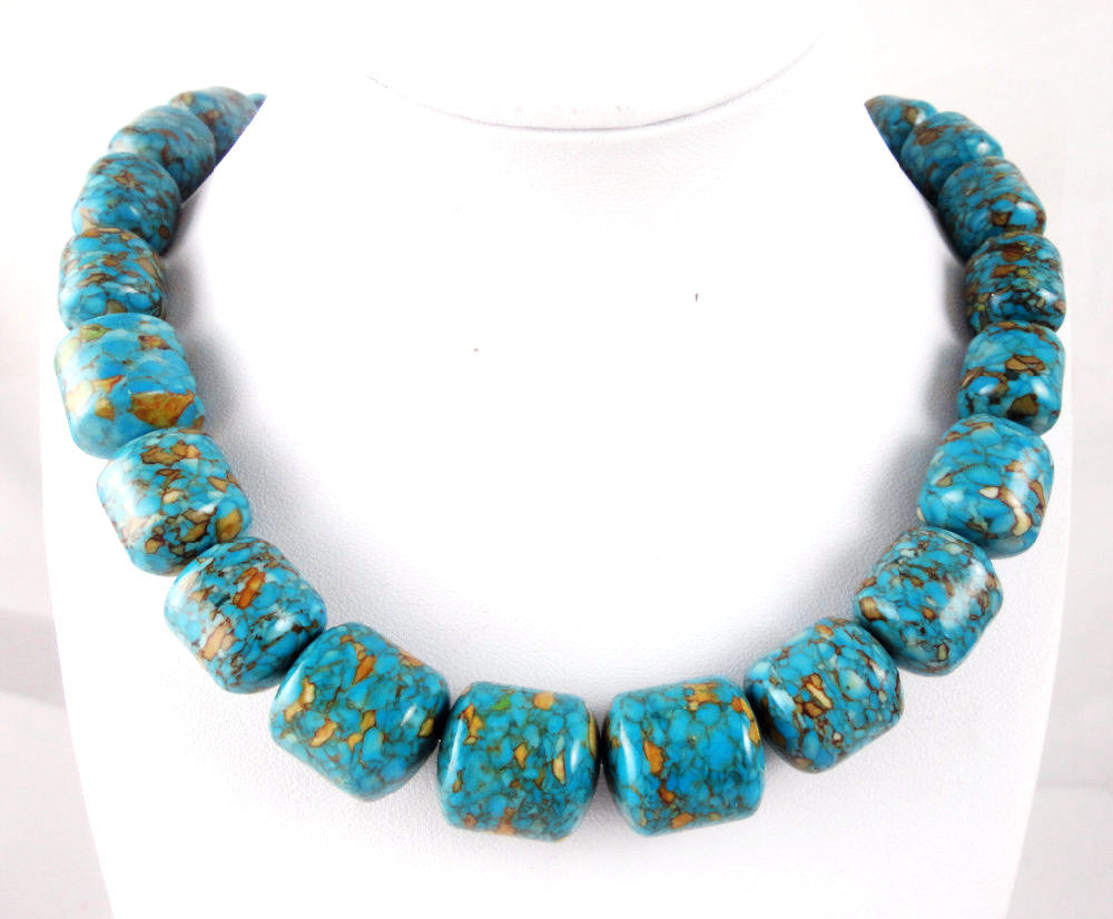 Turquoise Handmade Gemstone Jewellery Necklace - Pendants and Charms