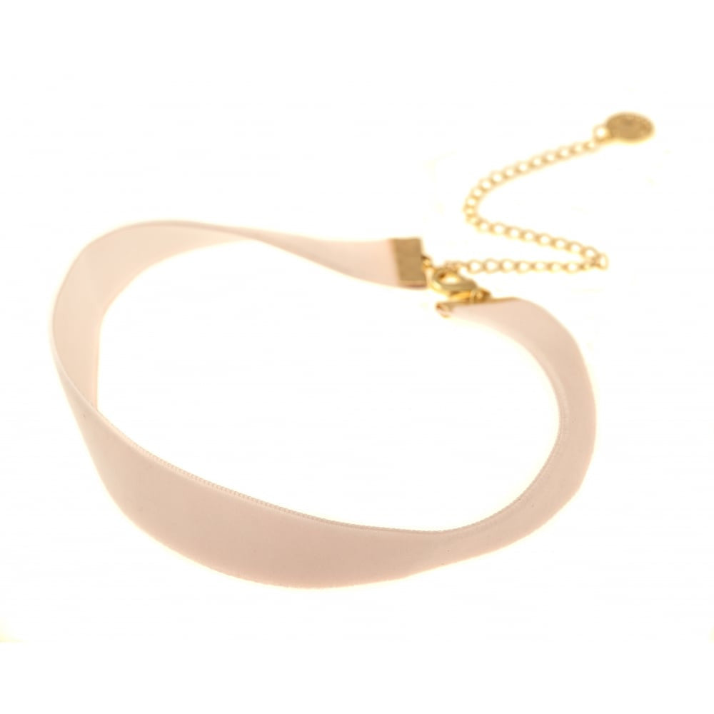 Velvet choker necklace Gothic  Classic Choker Necklace in Cream - Pendants and Charms