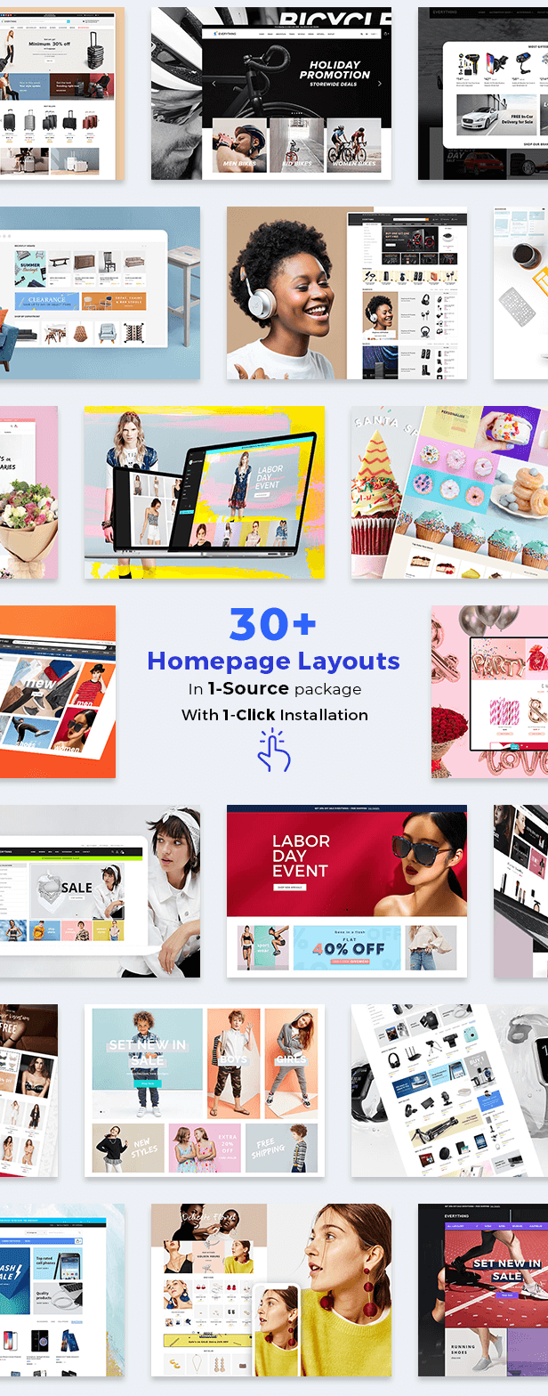 30 homepages in1 - Kala | Customizable Shopify Theme - Flexible Sections Builder Mobile Optimized