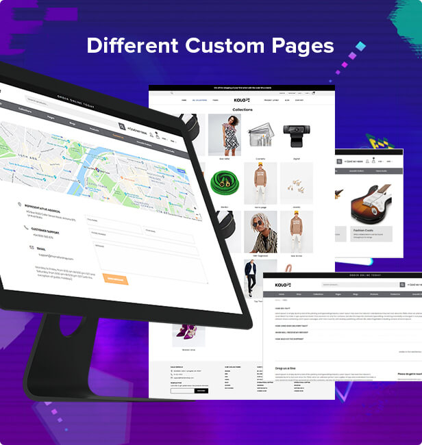 cms pages - Kala | Customizable Shopify Theme - Flexible Sections Builder Mobile Optimized