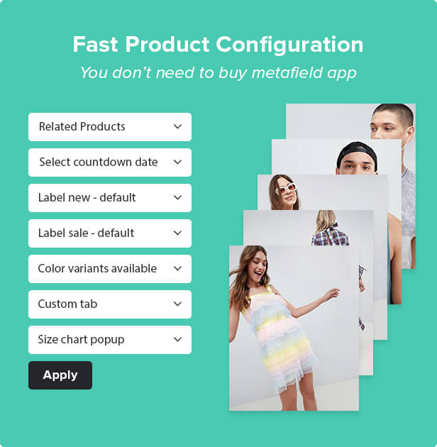 fast config - Kala | Customizable Shopify Theme - Flexible Sections Builder Mobile Optimized