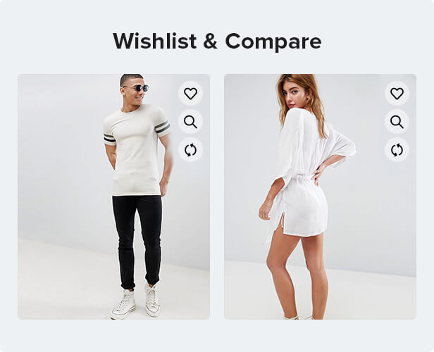 wishlist compare function