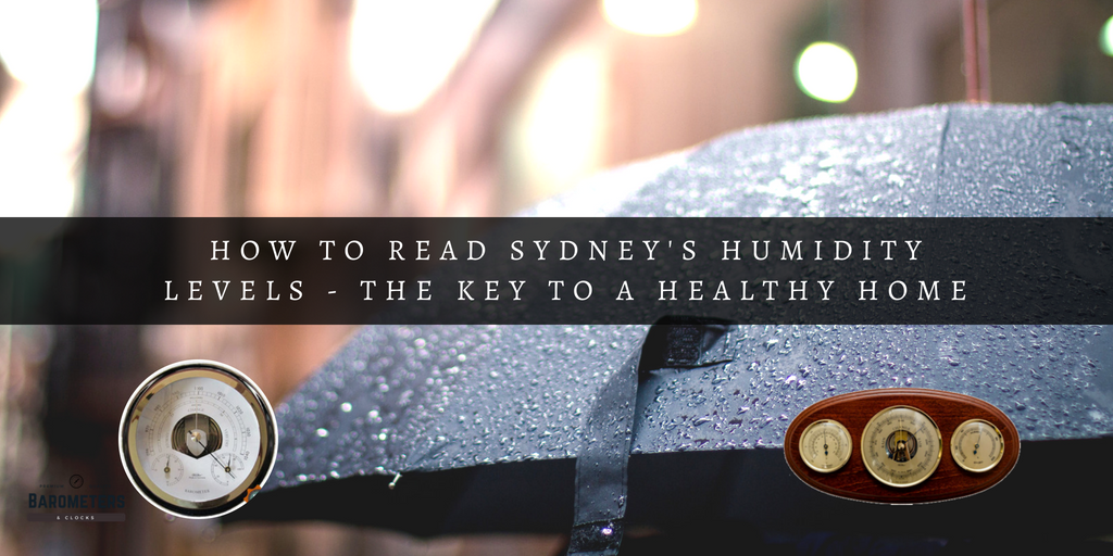 How to read Sydney's Humidity Levels - the key to a healthy home.