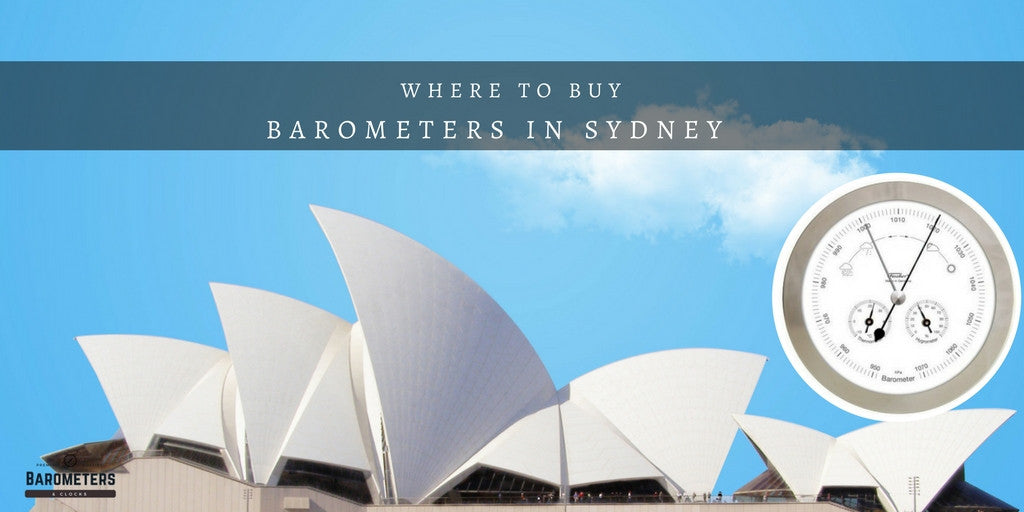 Q. Where can I buy Barometers in Sydney?