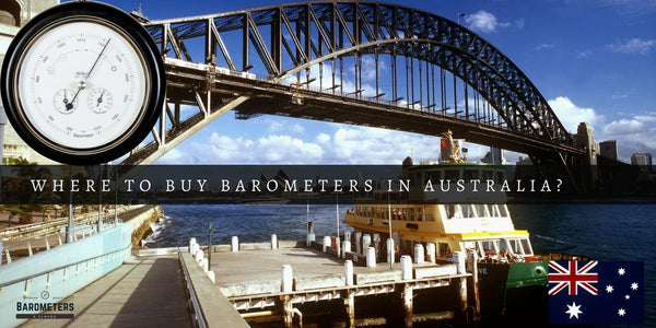 The Best Place to Find Barometers for Sale in Australia