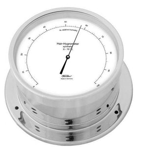 Nautical Chrome Hygrometer