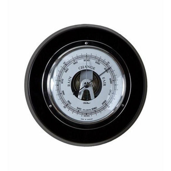 Black & Chrome Modern Barometer