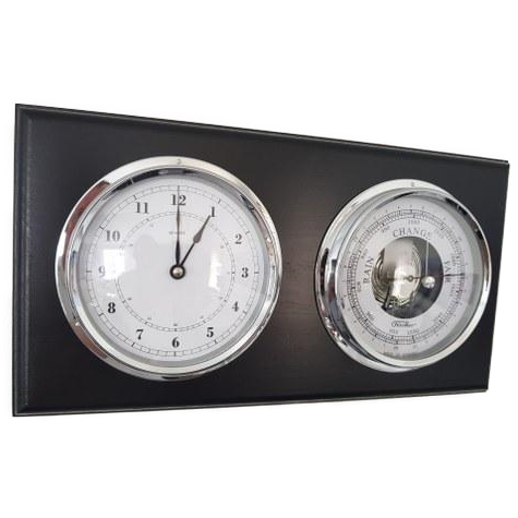 Fischer Barometer& Clock Combination