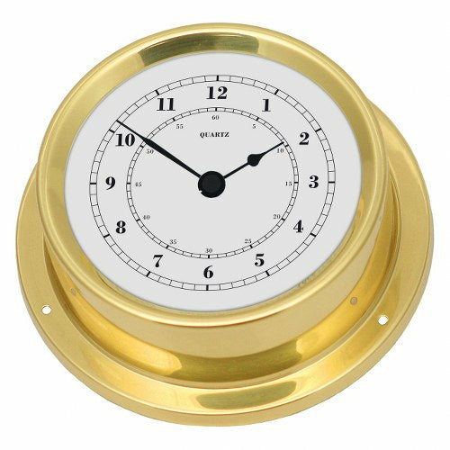 German Made Brass Clock