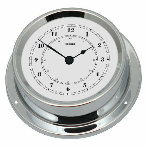 Small Chrome clock